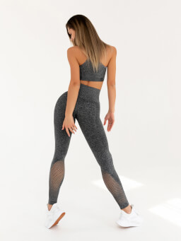 Leggins Yoga Gray Melanje